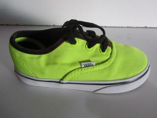 Vans Color Limon Neon Talla 14cm N129