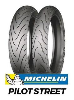 Juego Cubiertas 130-70-17 Y 100-80-17 Michelin Twister Ybr