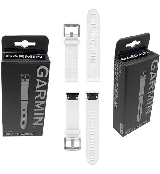 Pulseira Garmin Silicone Fenix 5s 42mm Quickfit 20 Original