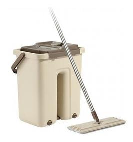 Balde Mop Limpador Multiuso Wash & Dry Premium Mop Segma