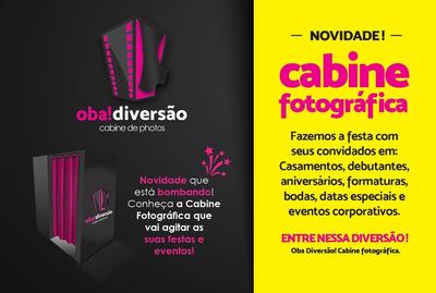 Cabine De Fotos - Oba Diversão