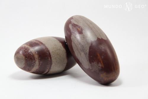 Imagen 1 de 2 de Piedra Shiva Lingam 9 Cm