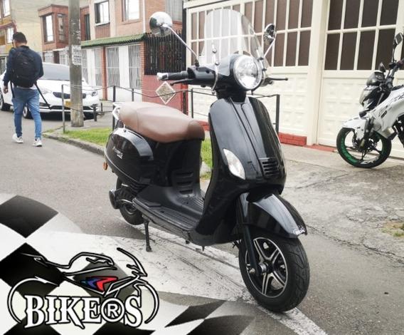 Motocicleta Electrica Move On 2016, Baterias Nuevas @bikers
