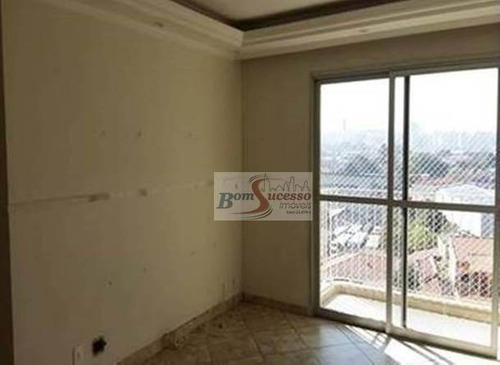 Imagem 1 de 10 de Apartamento Com 3 Dormitórios À Venda, 72 M² Por R$ 500.000,00 - Vila Carrão - São Paulo/sp - Ap1586