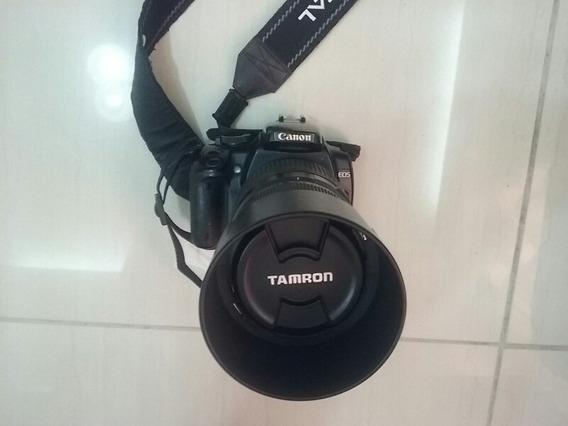 Câmera Canon 400d Com Defeito Com Lente Tamron Af 70-300