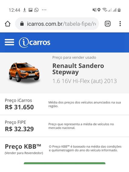 Renault Sandero Stepway 1.6 16 V Automático