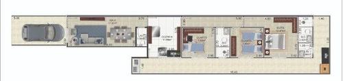 Imagem 1 de 1 de Casa Com 3 Dormitórios À Venda, 87 M² Por R$ 750.000,00 - Boqueirão - Santos/sp - Ca1205