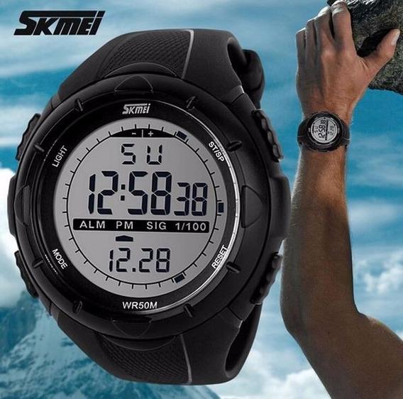 Relógio Skmei 1025 Sport 5atm De Quartzo Led