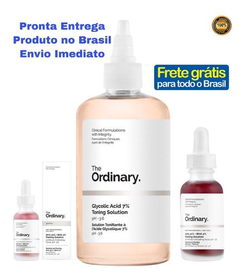 The Ordinary Ácido Glicólico + Peeling Solution Aha 30%