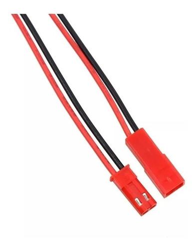 Juego De Cables Jst 2 Pines Macho Hembra 11 Cm