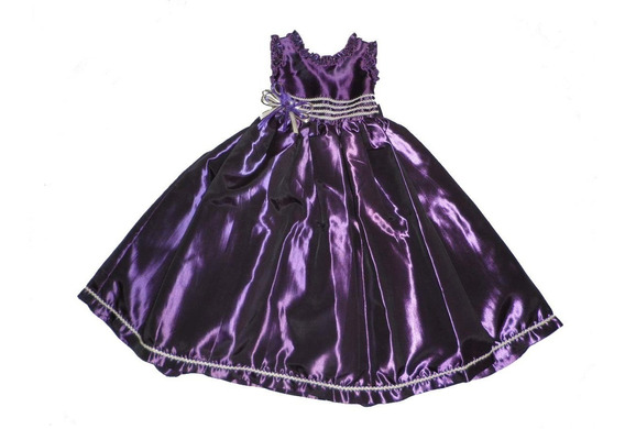 Nuevo Vestido Largo Niña Presentacion Fiesta Paje Princesa