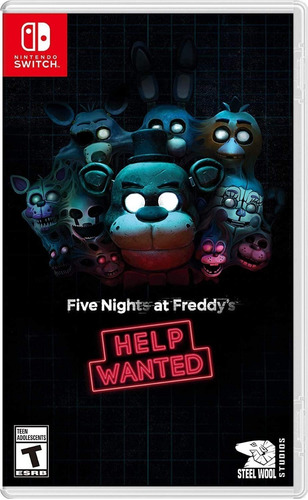 Nintendo Switch Five Nights At Freddys Help Wanted / Fisico