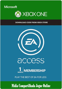 Ea Access Assinatura 12 Meses 1 Ano Xbox One Frete Gratis On