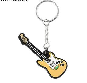 Chaveiro Guitarra Stratocaster No Case Silicone Pingente
