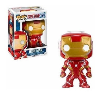 Ironman. Funko Pop. #126. Avengers. Civil War