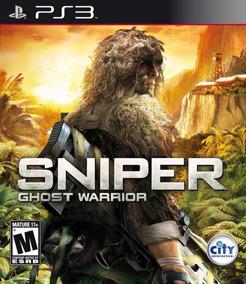 Sniper Ghots Warrior Ps3 Seminovo Completo Mídia Física
