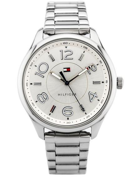 Relógio De Luxo Tommy Hilfiger Th1781672 Orig Anal Silver!!!