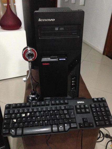 Cpu Trinkcentre Ibm Pentium 4 2gb Hd 148gb Web Cam + Teclado