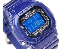 G 5600cc-2dr Azul Tough Solar G_shock Novo-original-na Caixa