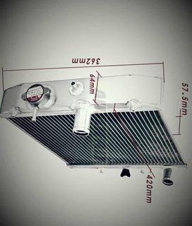 Radiador De Aluminio 52mm Honda Civic 92-00 Accesorios Tunin