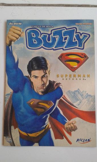 Álbum Buzzy Super Man Vazio Ótimo Estado