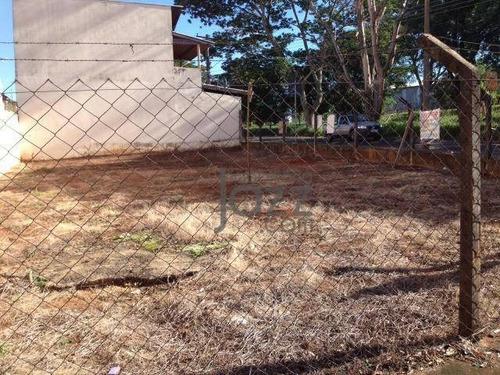 Terreno À Venda, 290 M² Por R$ 266.000,00 - Parque Via Norte - Campinas/sp - Te2568