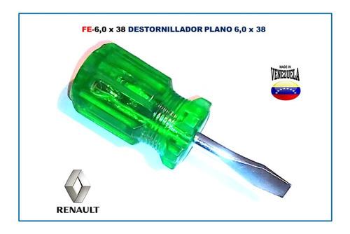 Destornillador Plano 6,0 X 38 Mm (el Par)