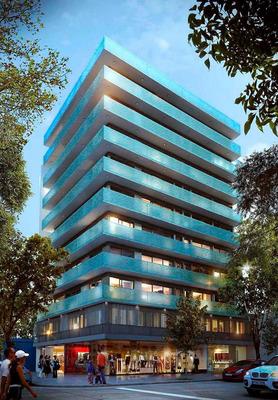 Vendo Apartamento 2 Dormitorios, Terraza Con Parrillero Propio, Amueblado, Pocitos, Montevideo Uruguay