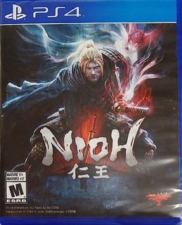 Nioh Ps4 Fisico Español Original Nuevo Sellado Playstation 4
