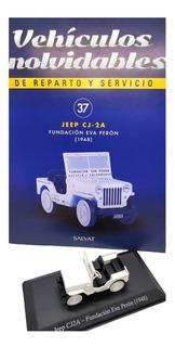 Vehiculos Reparto Y Servicio Nº 37 Jeep (1955) Fundacion Eva
