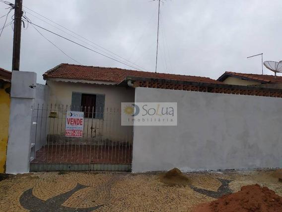 Casa Com 3 Dormitórios À Venda, 135 M² Por R$ 250.000,00 - Conjunto Habitacional Padre Anchieta - Campinas/sp - Ca0766