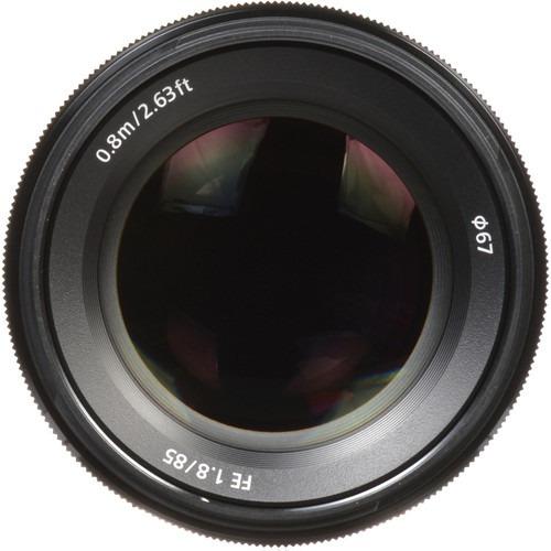Lente Sony Fe 85mm F/1.8 (sel85f18) Garantia Sem Juros