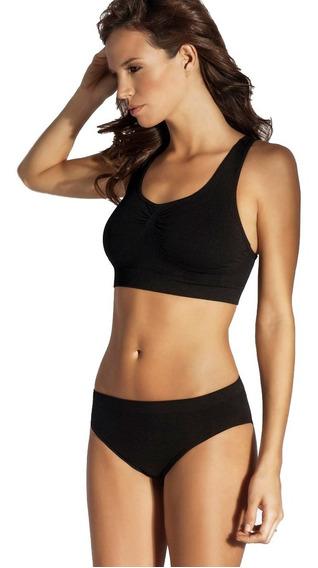 Bombacha Aretha 633 Bikini Sin Costuras