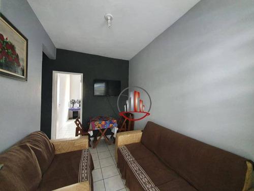 Apartamento De 2 Dormitórios Na Guilhermina Com Vista Mar R$195.000,00 - Ap2390