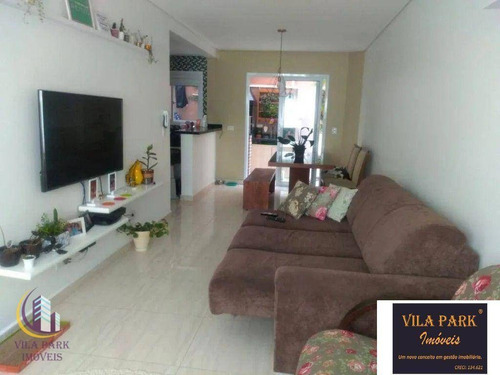 Imagem 1 de 14 de Sobrado Com 3 Dormitórios À Venda, 108 M² Por R$ 650.000 - Bela Vista - Osasco/sp - So0688