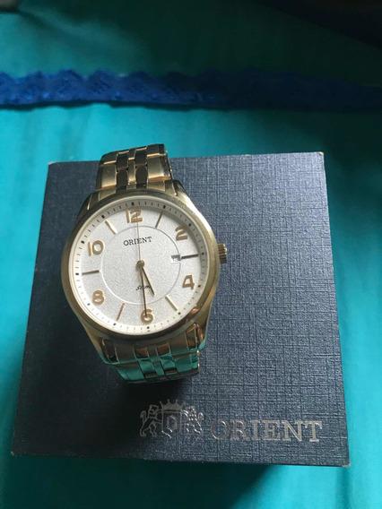 Relógio Orient Masculino Ouro