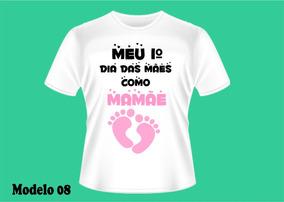 Dia Da Mães Camiseta Personalizada - Gravida Gestante