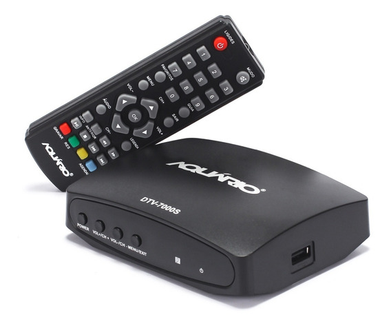 Conversor Digital Aquário Dtv-7000s Full Hd Com Hdmi