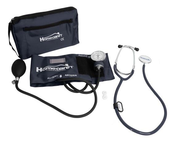 Kit Baumanometro Con Estetoscopio Homecare Simple Dmh2000