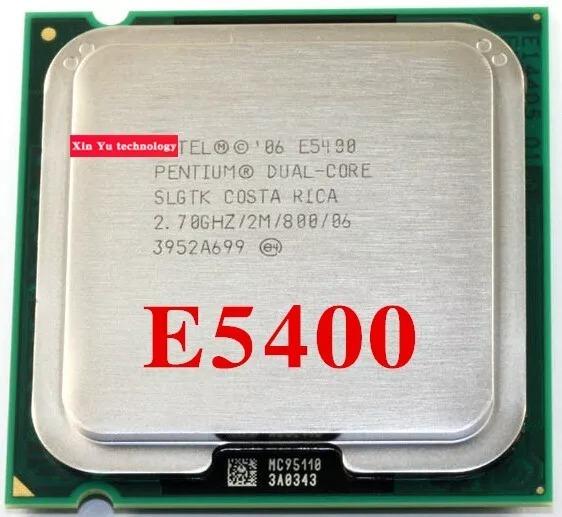 Processador Intel 775 Pentium Dual Core E5400 2.7ghz/2mb/800