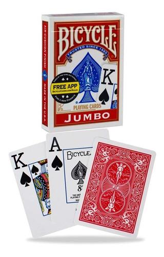 Cartas Bicycle  Jumbo Cardistry Magia Baraja Poker