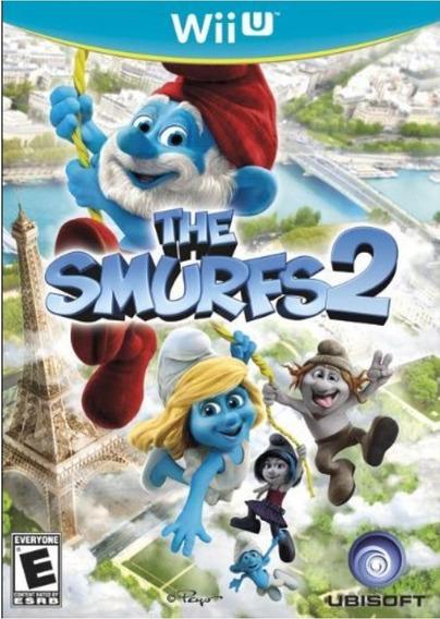 The Smurfs 2 / Os Smurfs - Wii U - Jogo Original E Lacrado!