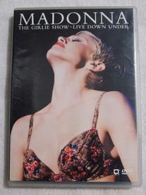 Dvd Madonna The Girlie Show Live Down Under Frete Grátis