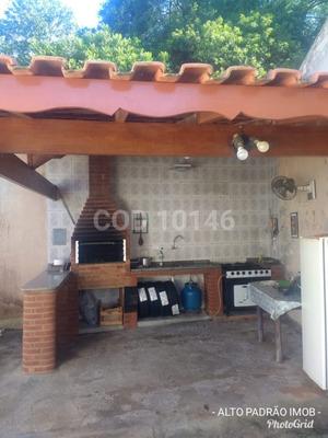 Casa Em Mairinque, Com 9 Comodos Com Churrasqueira - Bm