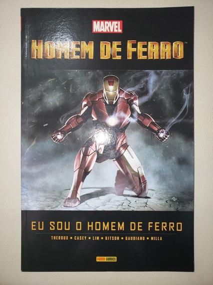 Eu Sou O Homem De Ferro Panini 2012 Capa Cartonada Excelente