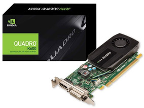 X Nvidia Quadro K600 1gb Ddr3 128bits 192 Cuda Cores Dvi Dp