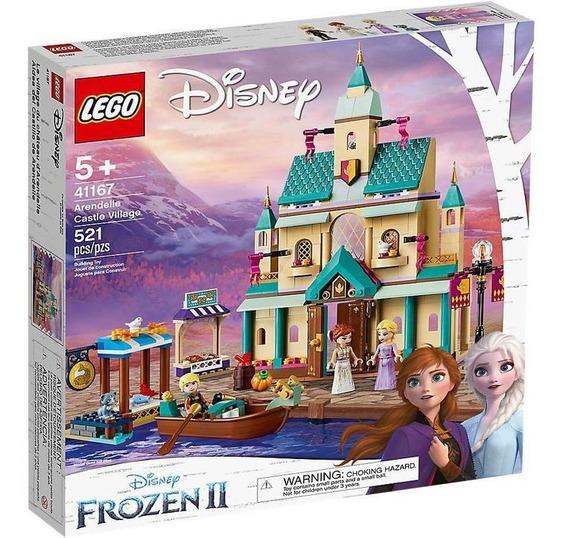 Lego Disney Frozen Aldea Del Castillo De Arendelle 41167