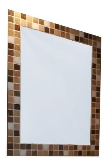 Espejo Venecitas 40x50 Decoracion Baño Dormitorio Living