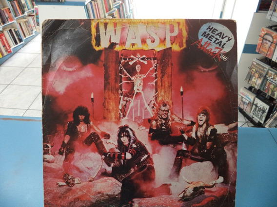 Lp/vinil Wasp I Wanna Be Somebody