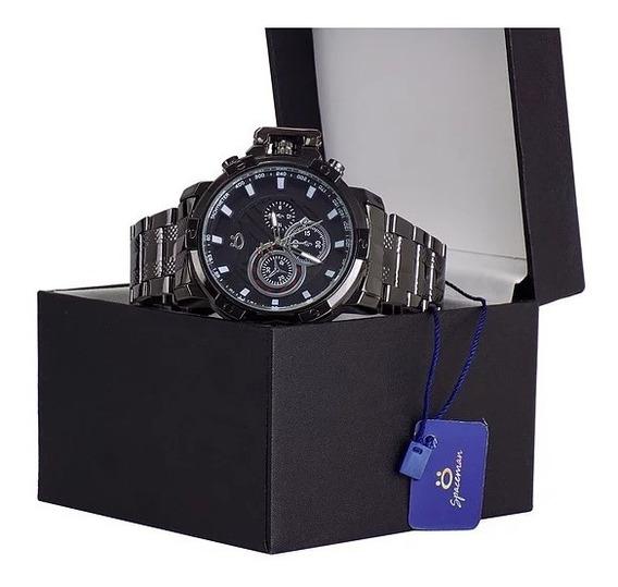Relógio Orizom Pulseira De Aço